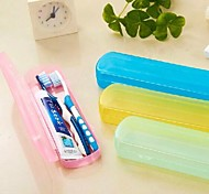 Colourful Portable Toothbrush And toothpaste Storage Box
