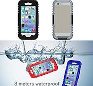 Недорогие -IP68 водонепроницаемый защитный пластик и силикон чехол для Iphone 6