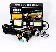 cheap -12V 35W H4 Hid Xenon High / Low Conversion Kit 10000K