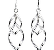 cheap -Women's Drop Earrings Sterling Silver Jewelry For Wedding Party Daily Casual