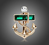 cheap -Women's - Fashion Green Brooch For Party / Daily / Casual