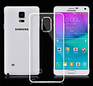 abordables -Ultrathin TPU Case for Samsung Galaxy Note 4 (Assorted Colors)
