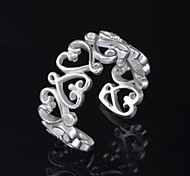 Xu™ Women's Hollow Out Pattern 925 Silver Plated  Ring