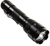 LS152 LED Flashlights / Torch Black Light Flashlights/Torch LED lm Mode - Impact Resistant Nonslip grip Strike Bezel for