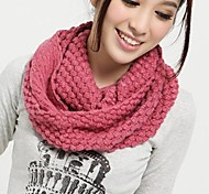 Women's Knitwear Casual Winter Yellow Pink Wine Dark Pink Watermelon