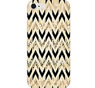 Black And Gold Pattern Back Case for iPhone 6