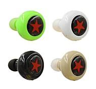 bluetooth v3.0 auriculares estéreo in-ear con el mic para 6/5 / 5s Samsung s4 / 5 lg HTC y otros