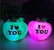 Недорогие -яблоко красочный ночной свет сладкий свет любви привело Nigth свет (Random Color)