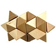 Логические игрушки Для получения подарка Конструкторы Дерево Золотистый Игрушки