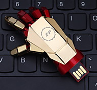 ZP 32GB USB disk Hand Pattern Metal Style USB Flash Pen Drive
