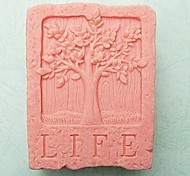 Life Tree Shaped Fondant Cake Chocolate Silicone Mold Cake Mold,Baking Tool