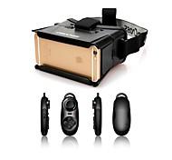 """Недорогие -colorcross универсальные виртуальной реальности 3D видео очки + многофункциональный контроллер Bluetooth для iPhone / 4 ~ 7 """"смартфонов"""