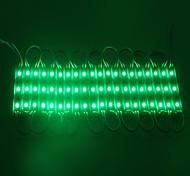 IP65 водонепроницаемый 0.6W 5050SMD зеленый свет светодиодный модуль трудно стриптиз-баре свет лампы (DC 12V, 20шт)