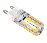 abordables -ywxlight® g9 led luces de maíz 80 leds smd 3014 regulable blanco cálido frío blanco 400lm 2800-3200k ac 220-240v