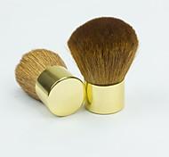 1шт золотым напылением щетки лицо макияж нейл-арт косметический инструмент