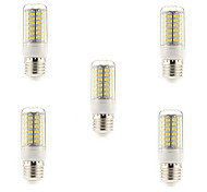 cheap -5W 450 lm E14 G9 E26/E27 LED Corn Lights T 69 leds SMD 5730 Warm White Cold White AC 220-240V