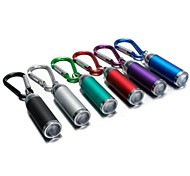 cheap -LS174 Key Chain Flashlights LED lm Mode - Mini Emergency Small Size Pocket Ultraviolet Light Camping/Hiking/Caving Everyday Use Driving