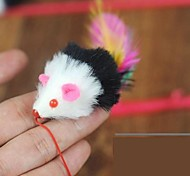 cheap -Teaser Feather Toy Mouse Textile For Cat Cat Toy