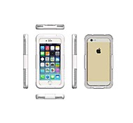 cheap -High-Grade Transparent Waterproof Plastic Shell for iPhone 6  (Assorted Colors)