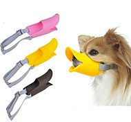 cheap -Dog Muzzle Adjustable / Retractable Anti Bark Safety Solid Silicone Yellow Brown Pink