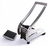 Kartoffelstreifen-Schneidemaschine, Edelstahl 26 x 12 x 9.5 cm (10,3 × 4,8 × 3,8 Zoll)