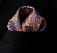 Для мужчин На каждый день Платок / аскотский галстук,Шёлк Узор пейсли (огурцы) Весна Лето осень Зима Все сезоны