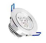baratos -300-350 lm Luminária de Painel Lâmpada de Teto Encaixe Embutido 3 leds SMD 2835 Regulável Branco Quente AC 220-240V