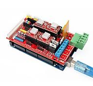 3D Printer Mega 2560 R3 + RAMPS 1.4 Extend Shield + 4988 Stepper Driver Set