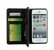 Multi-function Wallet Style Solid Color PU Leather Case for iPhone 7 7 Plus 6s 6 Plus SE 5s 5