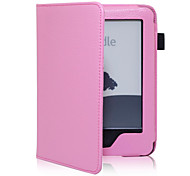 cheap -Case For Amazon Kindle 5 Kindle Full Body Cases Full Body Cases Hard PU Leather PVC for