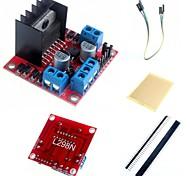 L298N двойного ч мост шагового водитель модуль и аксессуары для Arduino контроллер двигателя доска