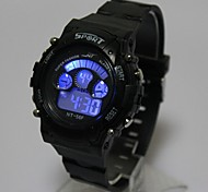 cheap -Kids' Calendar Sports Charm watch Quartz Digital LED Cool Watches Unique Watches Strap Watch