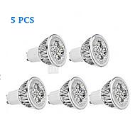 preiswerte -300 lm GU10 LED Spot Lampen MR16 4 Leds Hochleistungs - LED Abblendbar Warmes Weiß Kühles Weiß Wechselstrom 220-240V Wechselstrom 85-265V