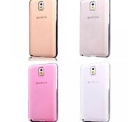 Недорогие -супер гибкий ясный кристалл простой мягкий TPU прозрачный корпус задняя крышка для Samsung Galaxy Примечание 3