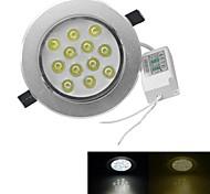 baratos -3000-3200/6000-6500 lm 12 leds LED de Alta Potência Branco Quente Branco Frio AC 100-240V