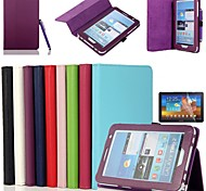 Tableta Samsung - Carcasas de Cuerpo Completo/Fundas con Soporte - Color Sólido - para Samsung Tab 2 7.0 (P3100/P3110) (