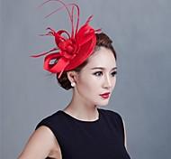 baratos -mulheres festa de casamento sinamay feather fascinators sfc12370 estilo elegante