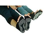 Недорогие -Йога Носки Дышащий Анти-скольжение Эластичная Спортивная одежда Жен. Йога
