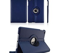 cheap -iPad 2/iPad 4/iPad 3 compatible Solid Color PU Leather 360⁰ Cases/Origami Cases
