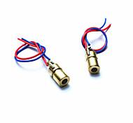 10050109W 5V Red Laser Diodes for Toys / Instruments - Golden + Red + Blue (2 PCS)