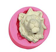 Недорогие -торт украшения львы формы силиконовые Lions Head-форма для помадные конфеты ремесел украшения шоколада PMC смолы глины