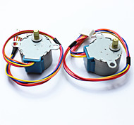 cheap -DC 5V 28YBJ-48 Stepper Motor for Arduino ((Works with Official Arduino Boards /2 PCS)