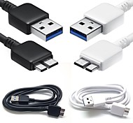 Недорогие -Длинный (80-149 см) - Кабели ( черный/белый , Зарядка/Синхронизация данных/Светильники/Высокая скорость