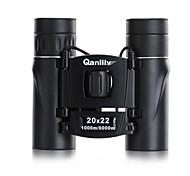 Недорогие -Qanliiy 20X22 Бинокль Высокое разрешение Водонепроницаемый Зрительная труба Ночное видение Общий Переносной чехол BAK4 Полное