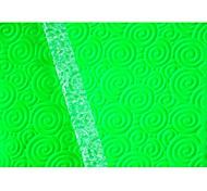 Недорогие -Four-C отделочных работ круговое кольцо скалкой для торта решений, помады текстурированные скалка украшения картина роликовые