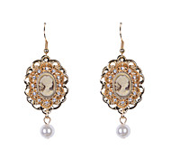 cheap -Women's Drop Earrings - Pearl, Rhinestone For Wedding / Party / Daily