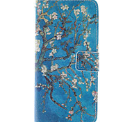 cheap -Case For Apple iPhone 6 iPhone 6 Plus Card Holder Wallet with Stand Flip Pattern Full Body Cases Flower Hard PU Leather for iPhone 6s