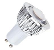 Недорогие -180 lm GU10 Светодиодные параболические алюминиевые рефлекторы MR16 1 светодиоды COB Диммируемая Тёплый белый Холодный белый Естественный
