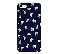 прекрасный маленький слон дизайн шт жесткий футляр для iPhone 4 / 4s