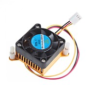 cheap -4CM Chassis Graphics Card Cooling Fan With Heat Sink Radiator 12V